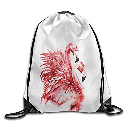 EELKKO French Bulldog Printed Kawaii Drawstring Backpack Kids Large Capacity Travel Bag Tote Dance 16.9