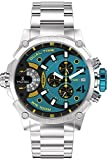 Timecode Men's Chronograph Quartz Watch with Stainless Steel Strap TC-1003-15