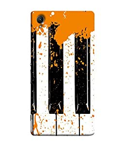 PrintVisa Designer Back Case Cover for Sony Xperia Z5 :: Sony Xperia Z5 Dual 23MP (Yellow Strings Wind Chime )