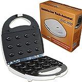 Piastra elettrica da cucina BAC-3000 con 12 piastre intercambiabili, per tostare nocciole, cuocere Waffel Bac3000