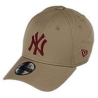 New Era Unisex's Beyzbol Kepi LEAGUE ESSENTIAL 9FORTY NEYYAN CAMHRD, Bej, Tek Ebat (Üretici ölçüsü: Bedensiz)