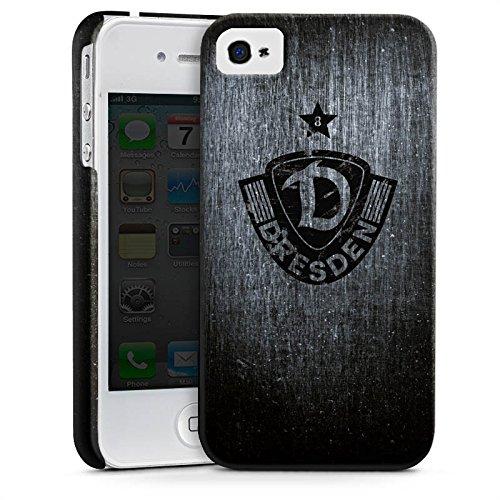 Apple iPhone 7 Silikon Hülle Case Schutzhülle Dynamo Dresden Vintage Fanartikel Premium Case glänzend