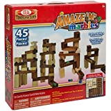 Ideal Amaze 'N' Marbles  45 Piece Classic Wood Construction Set