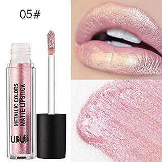 LANSKIRT Lipgloss Set UBUB Metall Perle Lippenstift Feuchtigkeitscreme Samt Lippenstift Kosmetik Beauty Makeup