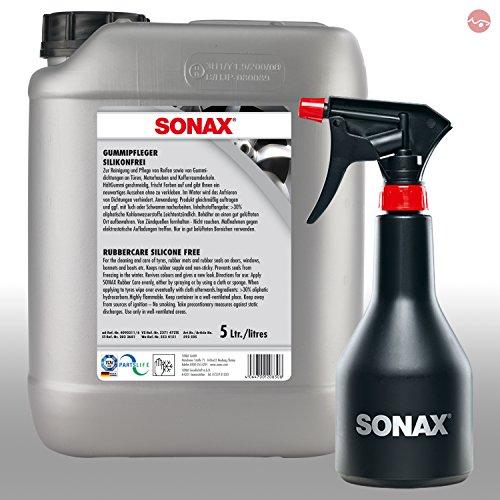 Preisvergleich Produktbild SONAX Gummi Pflege 5L Lack 02505000 + GRATIS Sprühboy Sprühflasche 04997000