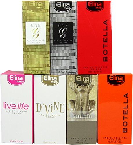 Set di 7 (sette) Profumi Premium Made in Germany. Ogni scatola di lusso flacone da (Servizio Burner)
