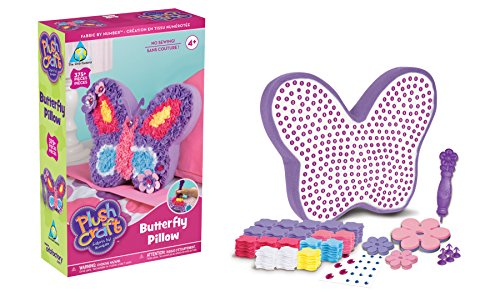 Orb Factory Sticky Mosaics Plush Craft Schmetterlingskissen