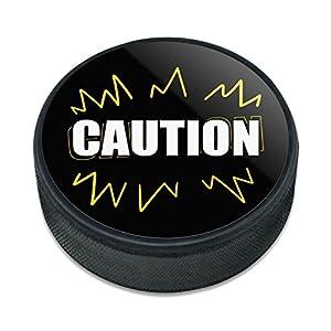 Grafiken und Mehr Vorsicht Warnung Eishockey Puck