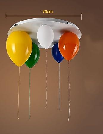 CAIJUN Kreative Personlichkeit Glas Schirm Farbe Ballon Deckenleuchten Wohnzimmer Schlafzimmer Kinderzimmer Eingang Balkon Deckenleuchte Grosse Optional