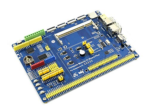 Waveshare Compute Module IO Board Plus Composite Breakout Board for  Developing with Raspberry Pi Compute Module 3,Compute Module 3 Lite