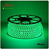 Premium Quality Water Proof 5 Meter LED Rope Light/Strip Light/Cove Light/Rope Light Color: Green With Adapter. Exxtra Brightness And Thiick Silicon Coating.