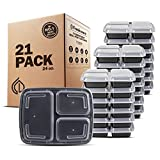 Best Freshware Meals - Freshware Meal Prep Containers [21 Pack] 3 Compartment Review