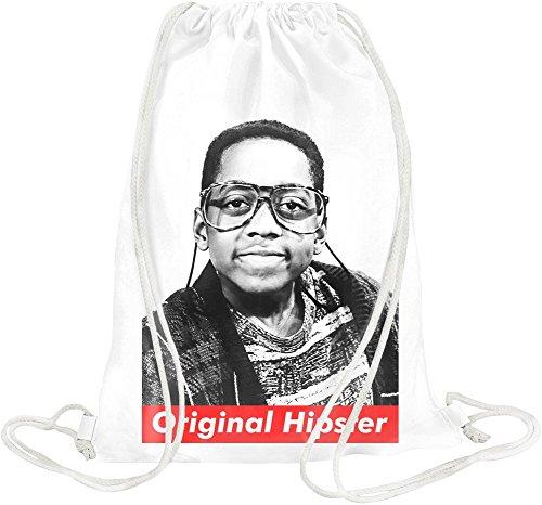 Orginal Hipster Steve Urkel Swag Hype Drawstring bag