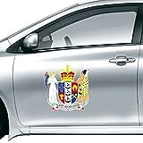 DIYthinker Das Nationale Emblem von Neuseeland Auto-Aufkleber auf Auto-Styling Aufkleber Motorrad-Aufkleber für Auto-Zubehör Geschenk 25Cm