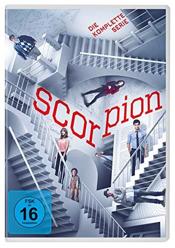 Pal-tv (Scorpion: Die komplette Serie [24 DVDs])