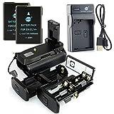 DSTE IR Remote MB-D31 Vertical Impugnatura Batteria + 2x EN-EL14 Batteria + USB Caricabatteria per Nikon D3100 D3200 D3300 D5300