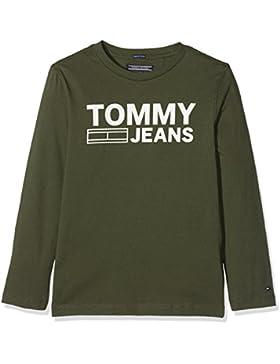Tommy Hilfiger Ame Logo Cn tee L/S, Camisa Manga Larga para Niños