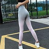 FANGNVREN Pantaloni da Yoga,Nuovo Seamless Leggings Blu Bottino Push Up Yoga Pantaloni Luogo Allenamento Jogging per Pantaloni Donna Collant Formazione Yoga Leggings,Foto A Colori,M