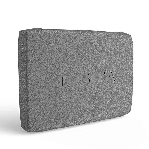 TUSITA Hülle für Lowrance Elite 5 HDI, Mark 5, Hook 5 - Silikon Schutzhülle Skin - Handheld GPS Navigator Zubehör (Lowrance-5 Gps)