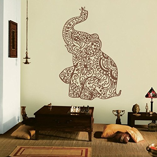 india-wall-art-elephant-yoga-wall-decals-living-room-decor-bedroom-dorm-decoration-largeblack