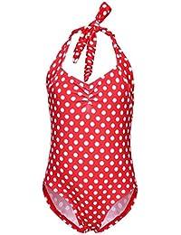 d7214558cbd5 Costume da bagno 1 pezzo, BYSTE Bambina Bikini Body Ragazze Spiaggia  Trikini Costumi da bagno
