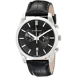 Claude Bernard 10103 3 NIN2 - Reloj de pulsera hombre, color Negro