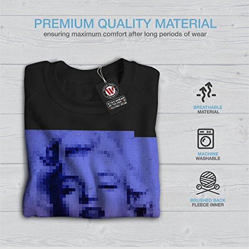 Célèbre Célébrité Marilyn Femme S-2XL Sweat-shirt | Wellcoda Noir
