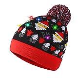 LED Mütze mit Weihnachtsmann