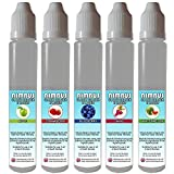 5x 30ml E Liquid Mixed Fruits: Apple | Blueberry | Grape | Strawberry