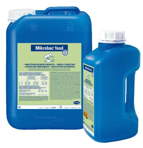 mikrobac Food formaldéhyde libre surfaces de désinfectant pour lebensmittelbetriebe, 2L