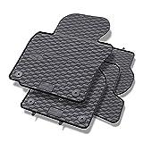 Mossa Gummi Fußmatten - 4-teilig - 100% passgenau - schwarz - Gummimatten - 5902538449168