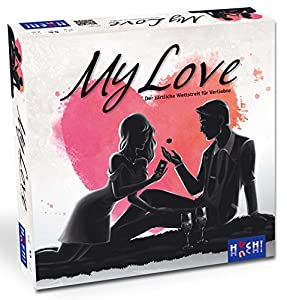 HUCH!. 880321My Love, Juego de Cartas