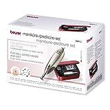 Beurer MP 60 elektrisches Maniküre-/ Pediküre-Set, mit 9 Nagelpflege-Aufsätzen und...