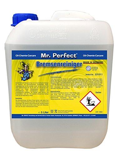 Mr. Perfect® Bremsenreiniger, Bremsscheibenreiniger für KFZ - 5 Liter