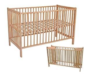 Kinder Bett klappbar, 120 x 60 cm