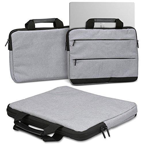 Schutzhülle für Trekstor Primetab T13B Laptop Tasche Sleeve Case Notebooktasche Hülle in Grau, Farbe:Grau