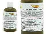 1 BOUTEILLE LIQUIDE Ortie & Shampooing aux herbes 100% naturel Sans Laureth sulfate de sodium 150ml