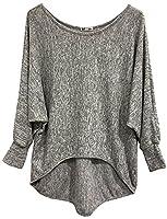 Emma & Giovanni - Top - Sweatshirt - Women (S/M 8/10, Grey)
