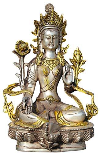 Tara vert (21 cm) Figurine Bouddha en bronze – Asien Lifestyle