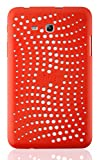 JAMMYLIZARD   Schutzhülle für [ Samsung Galaxy Tab 3 Lite 7.0 / Tab 3 V ] aus mattem Silikon, ROT