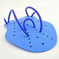 TYKusm Guantes de Natación para Niños y Adultos (Talla M), Color Azul