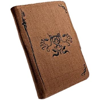 Eco-Nique Natural Hemp Brown Case Cover for 6-inch Amazon Kindle 3/Global Wireless - Black