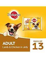 Pedigree Vital Protection Adult Wet Dog Food with Chicken & Lamb in Jelly (Combo Pack) - 400g (13 Packs)