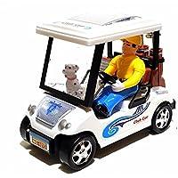 Top Kinderspielzeug Spielzeug Crazy Golf Cart Golfcar Golfcart Auto Car Licht & Sonund Selbstfahrend Batteriebetrieben NEU
