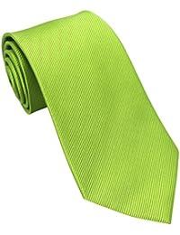 Lime Green Silk Tie
