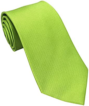 Lime Green Silk Tie
