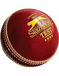 Slazenger Test críquet deporte entrenamiento y práctica piel Match Ball 5–1/2oz