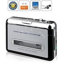 BW UCP218 - Mangiacassette e convertitore da nastro a MP3, collegamento USB