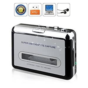 bw portable tape to pc cassette to mp3 cd usb converter. Black Bedroom Furniture Sets. Home Design Ideas