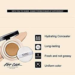 Beauty Flawless Cushion bb& cc Cream Whitening Nude Makeup Hydra Cream Face Natural Ladies Make Up Primer Base